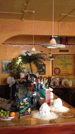 Fiesta Latina: Upstairs bar and restaurant oom!!!
