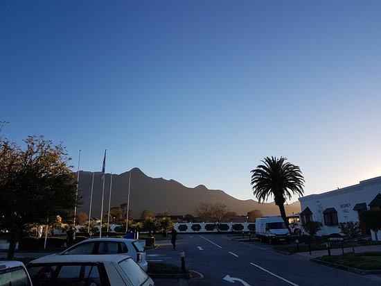 Grounds of protea hotel