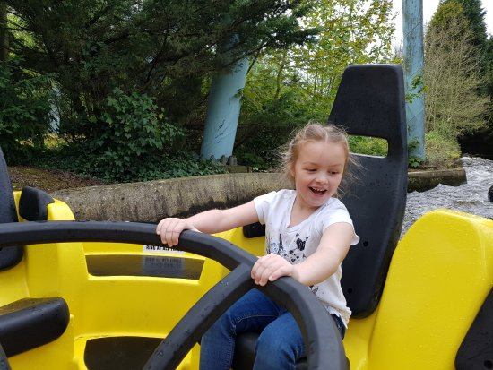 Drayton Manor Park: Hold on tight. You don't get as wet as the Stormforce ride though.
