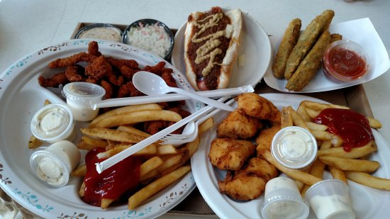 Oswego, Нью-Йорк: Tasty goodies