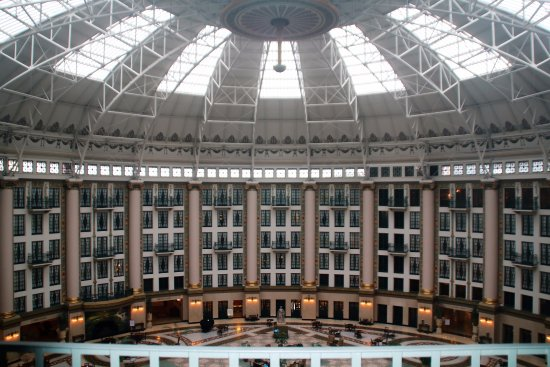 West Baden Springs, IN: Dome with skylights during the day