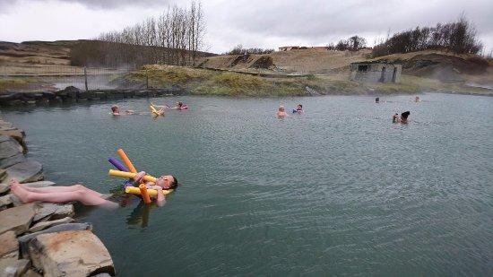 Fludir, ไอซ์แลนด์: Yes, my feet were cold, ha!
