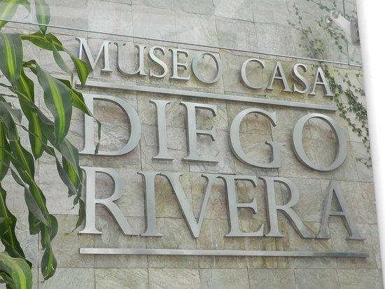 Diego Rivera Museum and Home (Museo Casa Diego Rivera) : The Main Entrance