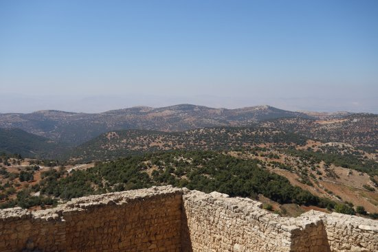 Ajlun Castle (Qala'at ar-Rabad) : View from the castle