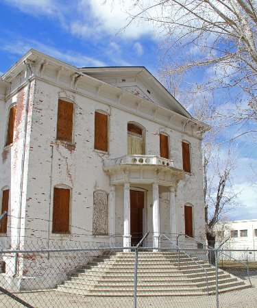 Old Mineral County Courthouse