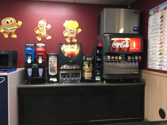 Macedon, NY: Patty Shack - soda area