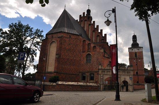 Biecz, Polen: Widok od strony miasta.