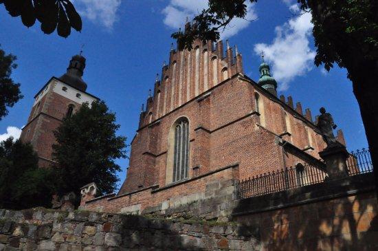 Biecz, Polen: Widok od frontu.