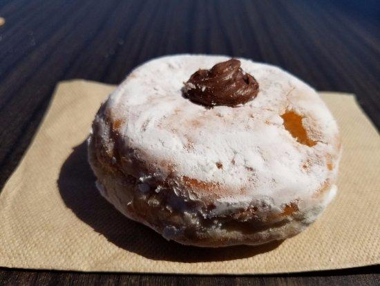 Chocolate cream-filled doughnut. - Picture of Dunkin ...