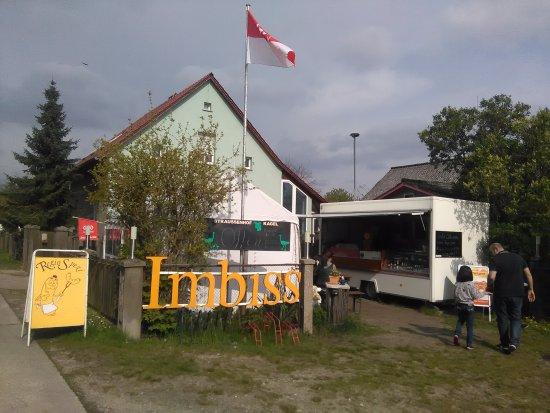 Gruenheide, Germania: Straußenfarm-Imbiss