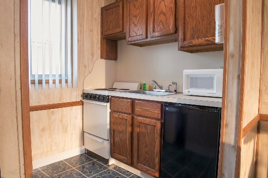 Seaside Heights, Nueva Jersey: Kitchenette in our double room