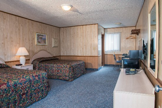 Seaside Heights, NJ : Double Room full bath, compact refrigerator, microwave, flat screen TV, room safe & Wifi