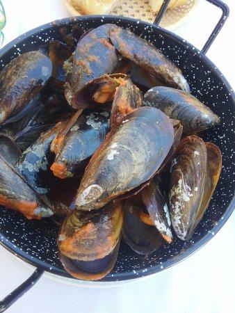 Restaurante Sayal: Les moules marinières