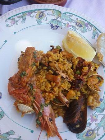 Restaurante Sayal: La paella