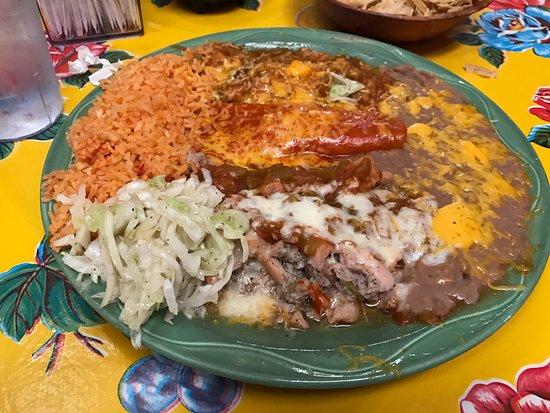 La Posta de Mesilla : Enchilada plate
