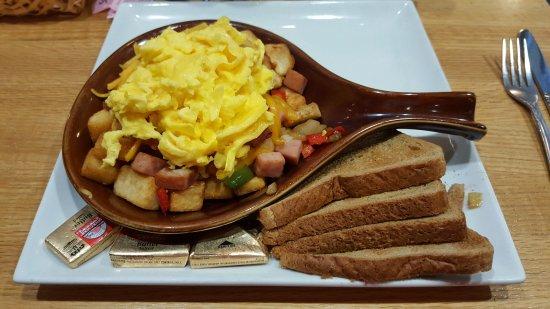 Staunton, VA: Frühstück/breakfast