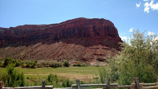 Red Cliffs Lodge: View from our suite.