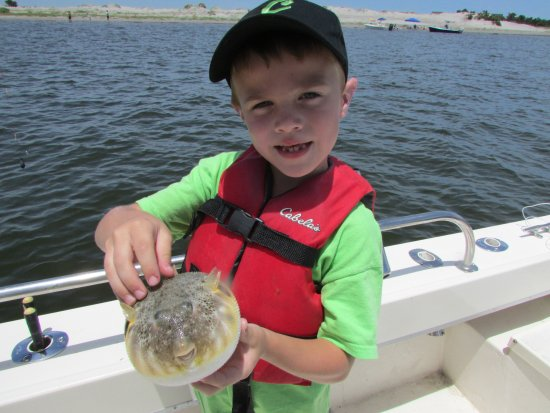 Manteo, NC: You never know what you will catch!