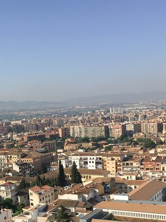 Hotel Alhambra Palace: View from our Junior Suite