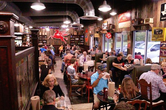 The Woodlands, TX: Inside the DDBBBQ