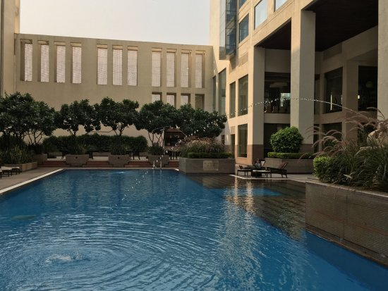 Pool Picture Of Jaipur Marriott Hotel Jaipur Tripadvisor