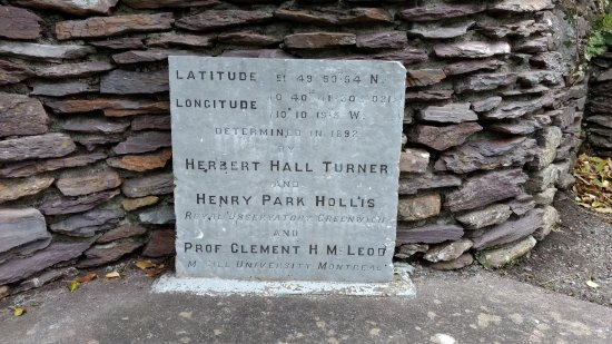 Waterville, Irlanda: The Longitude and Latitude Stone