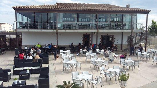 Sant Jaume d'Enveja, Spain: View of the restaurant