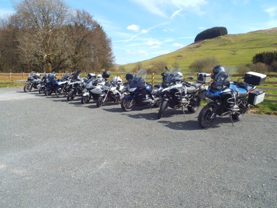 Eskdalemuir, UK: Motorbike Friendly