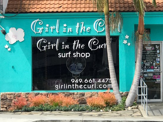 We have a full-service surf shop for all your gear! 34116 PCH, Dana Point girlinthecurl.com