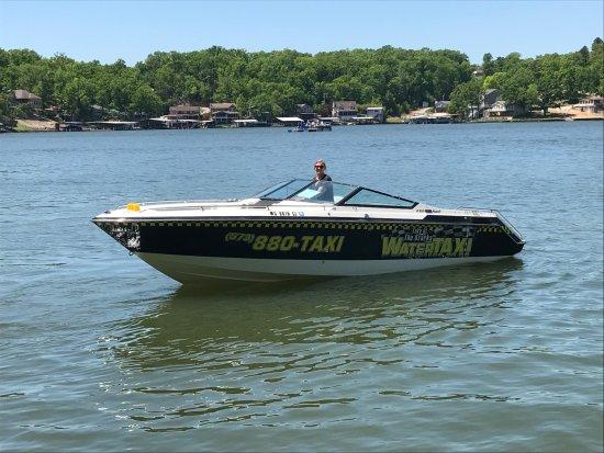 Lake Ozark, MO: One of our 6 passenger boats