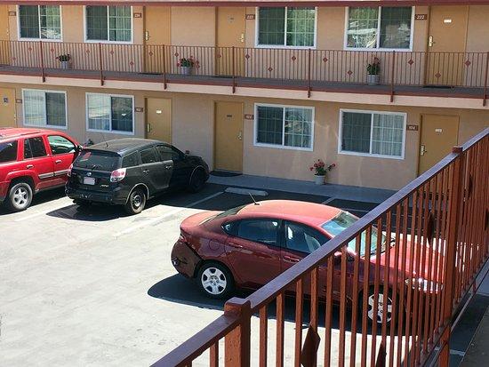 Beaumont, Californië: Parking Area