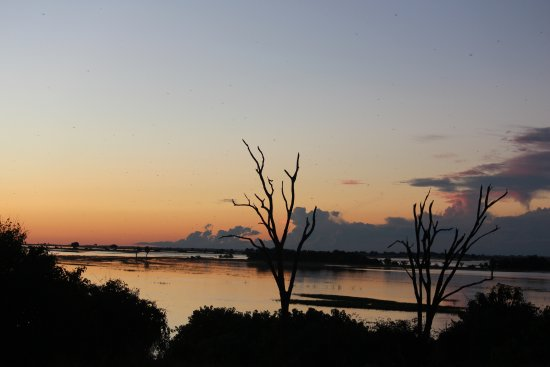 Chobe Game Lodge: Chobe sunsets are always amazing