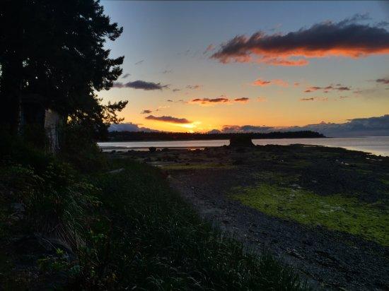 Nanoose Bay, Kanada: Sunset