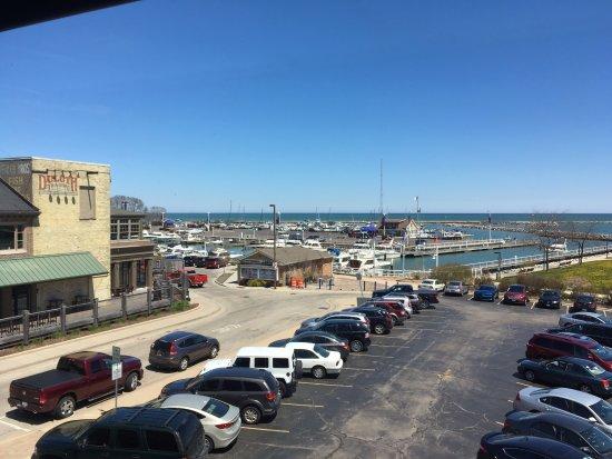 Port Washington, WI: The harbor area