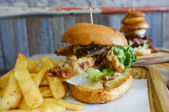 Coogee, Australia: The crab burger