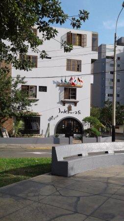 Inkawasi Backpacker Hostel: Vista exterior
