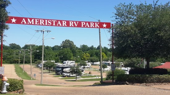 Campsites Picture Of Ameristar Casino Hotel Vicksburg Rv