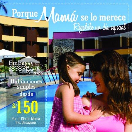 Hotel Embassy Beach: Reservas: 056 532568 532256 embassyhoteles@terra.com.pe  goo.gl/boKb34