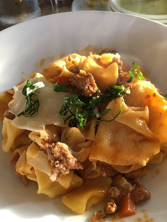Prince Frederick, MD: Bolognese with beef & pork, fresh pasta