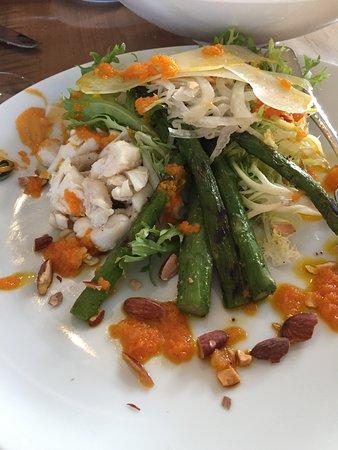 Prince Frederick, Мэриленд: Asparagus Salad w/crab meat