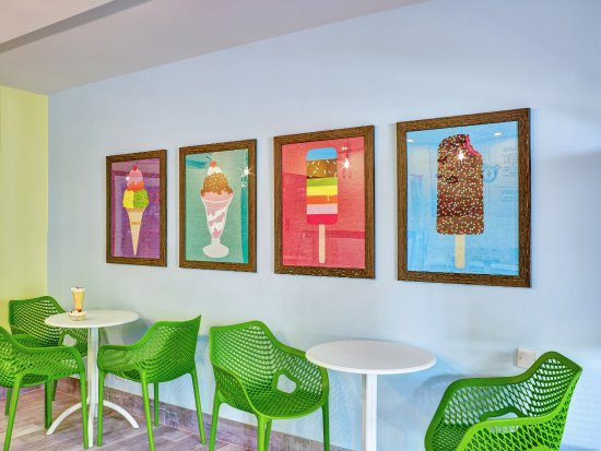 Freeze Ice Cream Parlour Picture Of