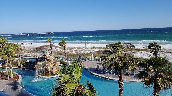 Holiday Inn Resort Fort Walton Beach Lazy River With Zero Entry Pool