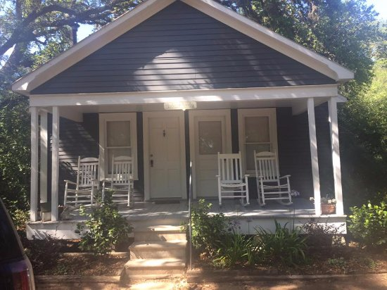 Cat Spring, TX: This is the Bluebonnet Bungalow-front of house