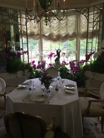 Beautiful dining area picture of hillwood museum for Beautiful dining area