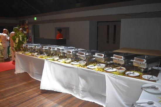 buffet set-up - Picture of The Establishment, Pacific Harbour ...