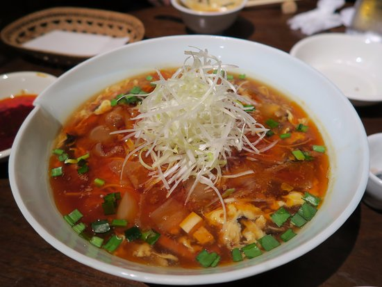 Dining Bar Ragtime: Sour Spicy Ramen Noodle