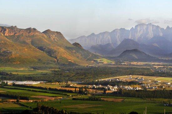 Stellenbosch, Franschhoek and Paarl...