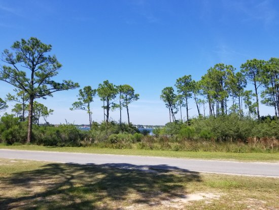 St. Andrews State Park: Very nice camp grounds.