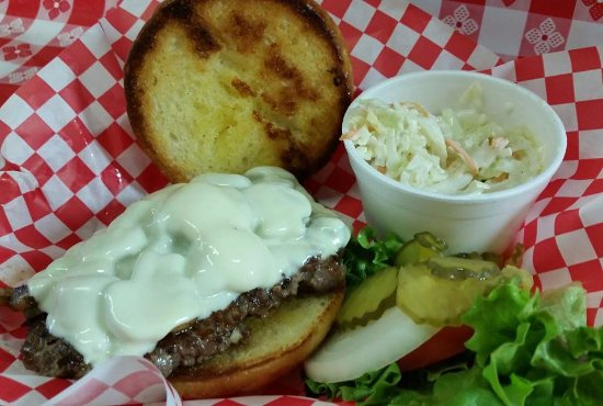 Greybull, WY: Fresh handmade 1/3 lb patty hamburgers made daily, 18 specialty burgers to choose from.