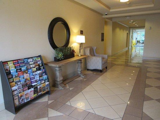 Ground Floor Near The Lift Picture Of Hilton Garden Inn Houston Energy Corridor Houston